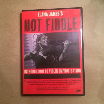 Elana James's Hot Fiddle DVD
